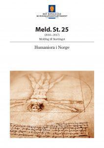 Humaniora i Norge, Meld. St. 25 (2016-2017)