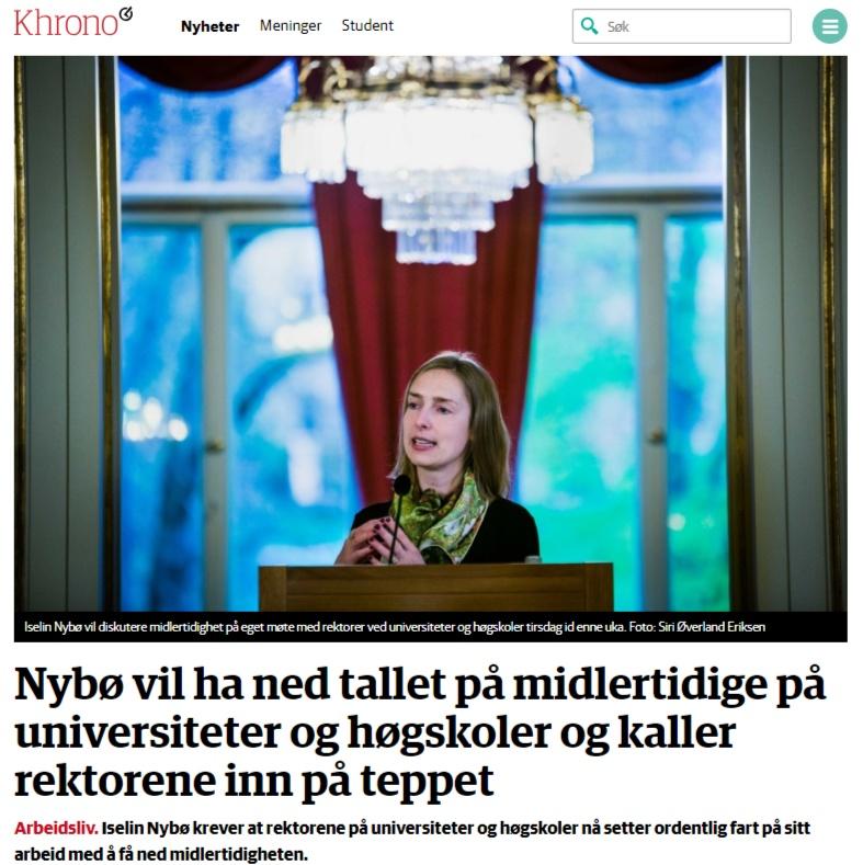 Nybø i Khrono, 25. mars 2019.